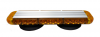 "LED Amber 15"" Bar Plow Light Mag Mount Left/Right Flash"
